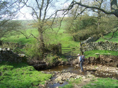 Surgill Beck on the Pennine Way