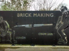Brick making at Crayford