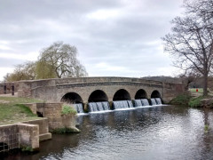 The Five Arch Bridge at Foots Cray Meadow