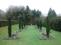 The gardens of High Elms Park