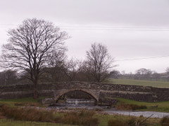 Newfield Bridge, on the River Aire