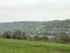 The view from Riddlesdown Common