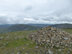 Extremely large cairn on High Crag