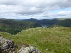 View from Little Hart Crag, including High Hartsop Dodd