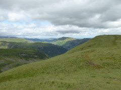 Approaching the summit of Middle Dodd