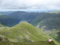 Middle Dodd sees from Red Screes