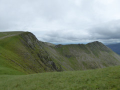 Striding Edge, seen from Nethermost Pike
