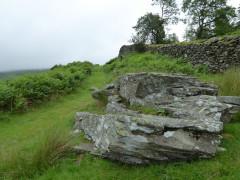 A large rock near High Grove