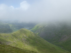 Middle Dodd and Patterdale, seen from Red Screes