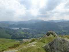 View from the summit of Stone Arthur