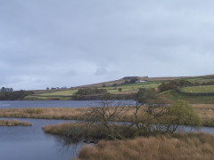 Blackton Reservoir on the Pennine Way