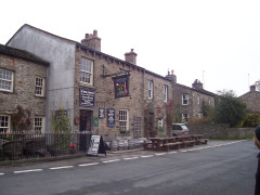 The Green Dragon pub, in Hardraw