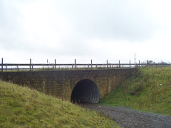 Subway under the A66 through which the Pennine Way goes