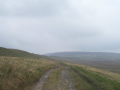 West Cam Road on the Pennine Way