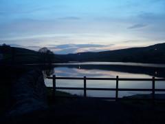 Ponden Reservoir at night
