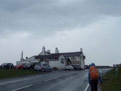 The White House pub on the Pennine Way