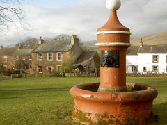 The Dufton village water fountain