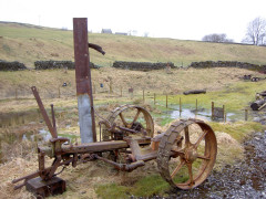 Rusting machinery in Garrigill