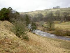 The South Tyne River near Garrigill