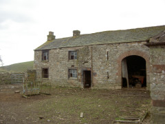 Abandoned farm buildings at Halsteads, near Dufton