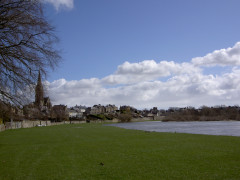 Kelso, on the banks of the River Tweed