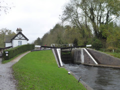 Denham Lock on the Grand Union Canal