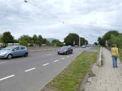 The A30 dual carriageway at Hatton Cross