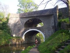 Double bridge at East Marton