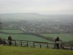 Very long bench on Whiteleaf Hill near Princess Risborough