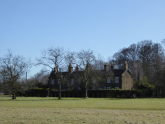 Cottages in Hainault Country Park