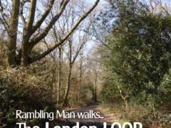 Cover of the book 'Rambling Man Walks The London LOOP'