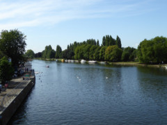 The River Thames at Kingston-upon-Thames