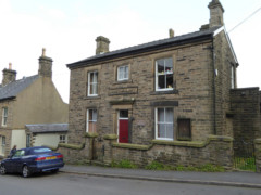 Former police station in New Mills