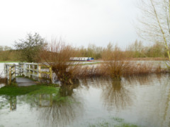Flooding near the Maybridge pub, Newbridge