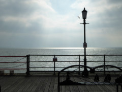 The end of Southend Pier