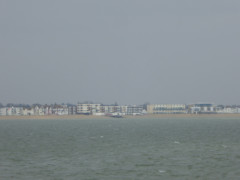 Southend, seen from the end of Southend Pier