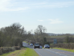 The A361 near Lechlade