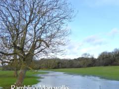 Cover of 'Rambling Man Walks the Thames Path;