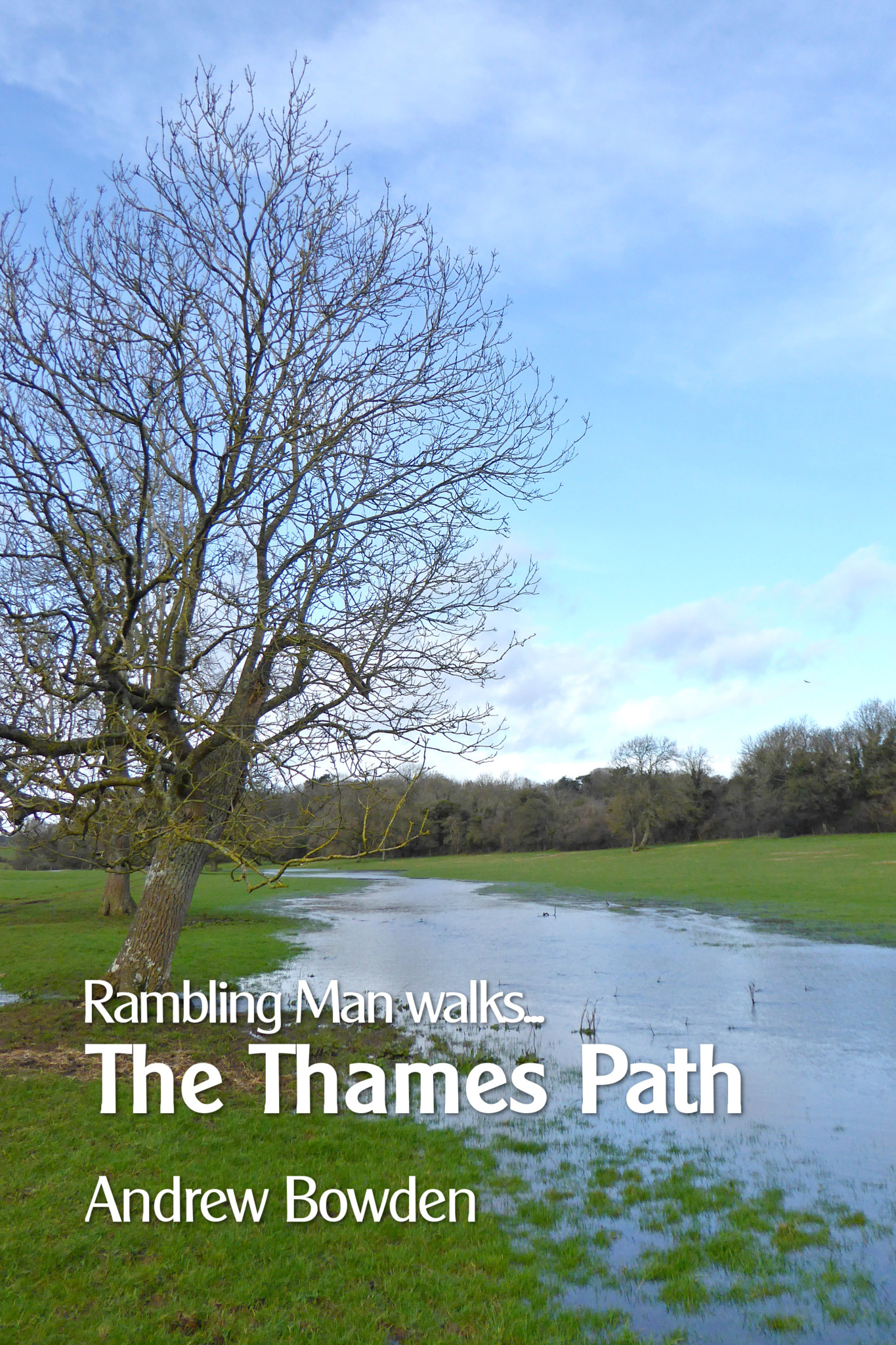Cover of 'Rambling Man Walks the Thames Path;