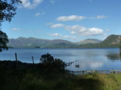 Derwent Water, seen from the Cumbria Way