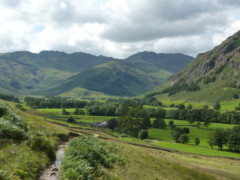 Great Langdale, seen near Dungeon Ghyll