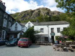 The Old Dungeon Ghyll pub, Langdale