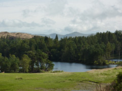 View of Tarn Hows, from the Cumbria Way