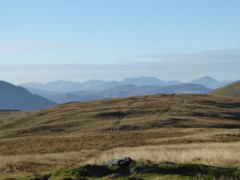 Distant fells, seen from Souther Fell