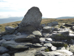 Cairn on Bannerdale Crags