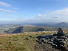 View from Bannerdale Crags towards the Eden Valley