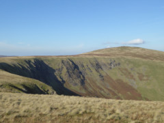 Bowscale Fell, seen from Bannerdale Crags