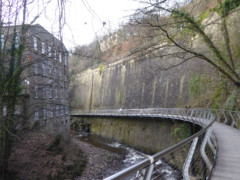 The Goyt Mill and Millennium Walkway