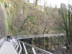 The Millennium Walkway, over the Goyt
