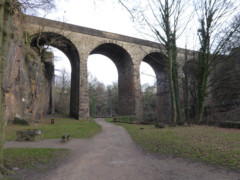 The Union Bridge, at New Mills